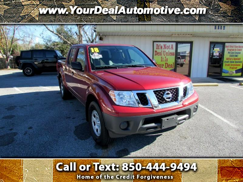 2018 Nissan Frontier S Crew Cab 5AT 2WD