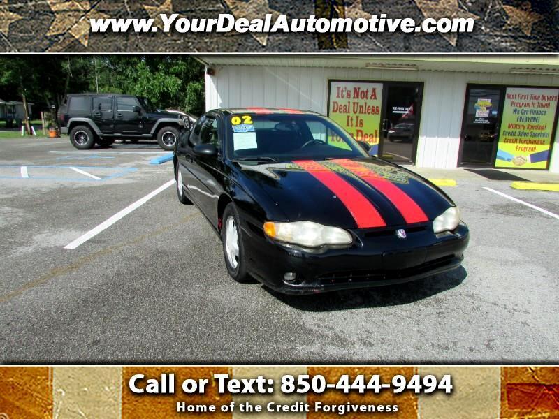 2002 Chevrolet Monte Carlo 2dr Cpe SS