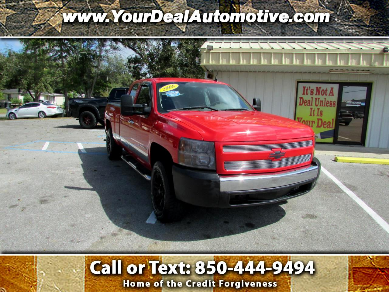 """2008 Chevrolet Silverado 1500 2WD Ext Cab 143.5"""" Work Truck"""