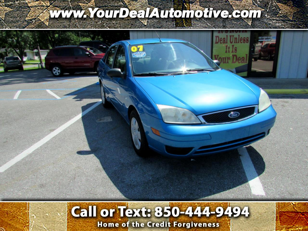 Ford Focus 4dr Sdn SES 2007
