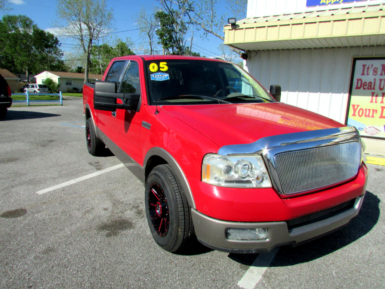 """Ford F-150 SuperCrew 139"""" King Ranch 2005"""