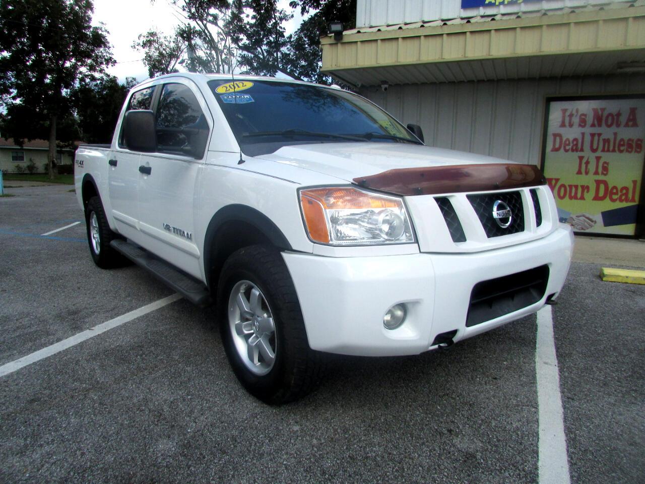 Nissan Titan 4WD Crew Cab SWB PRO-4X 2012