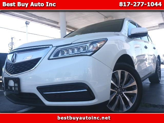 2016 Acura MDX 9-Spd AT w/Tech Package