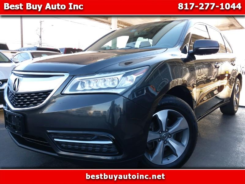 2014 Acura MDX 6-Spd AT