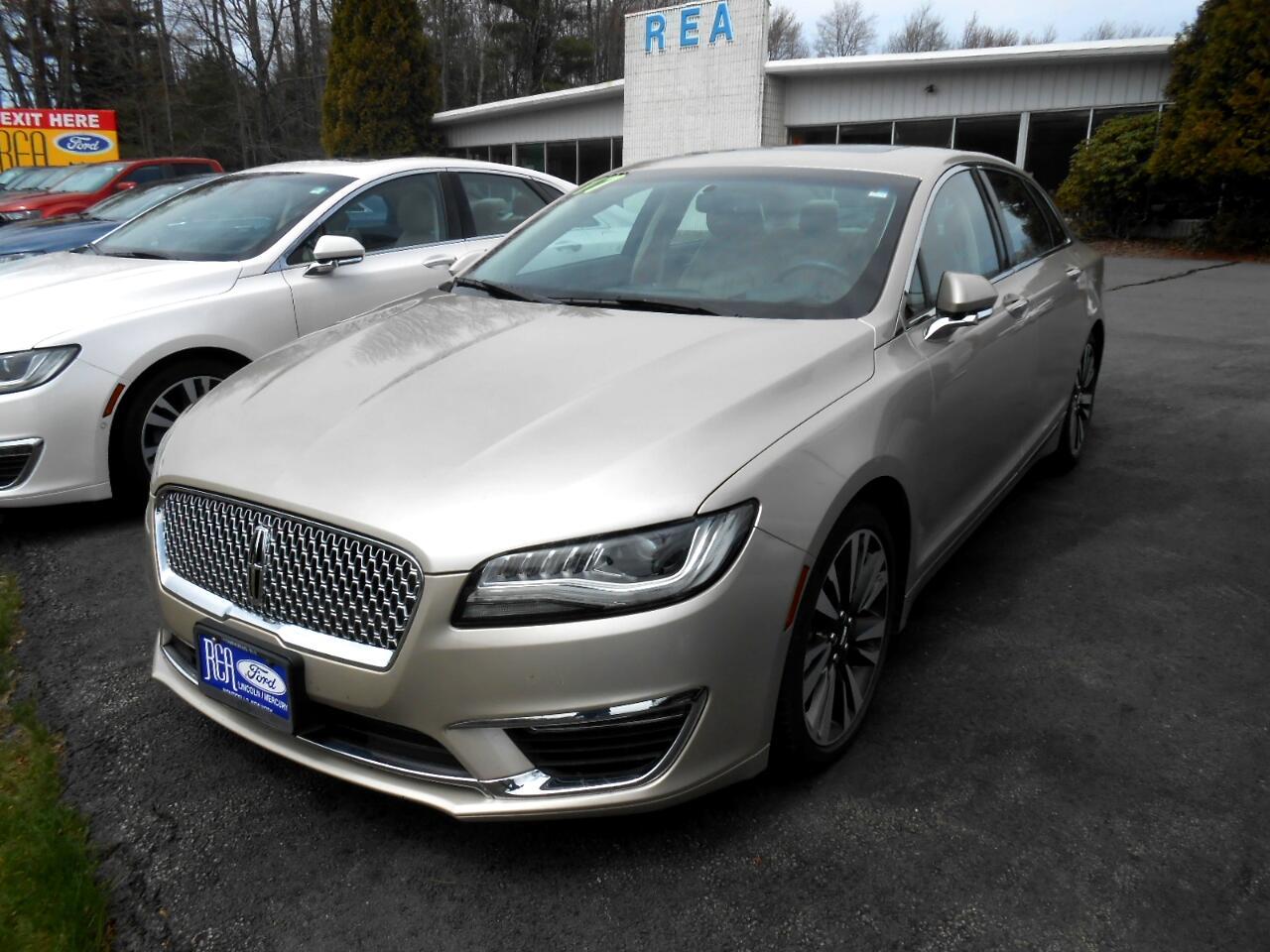 Lincoln MKZ Select AWD 2017