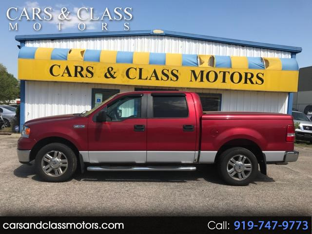 "2008 Ford F-150 2WD SuperCrew 139"" XLT"