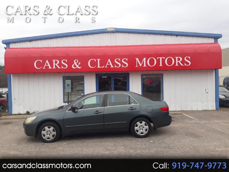 Honda Accord Sdn LX MT 2005