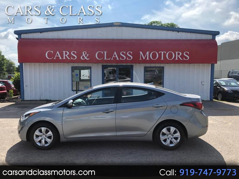 Used 2016 Hyundai Elantra for Sale in Raleigh, NC 27603 Cars