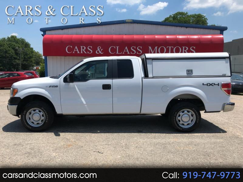 Ford F-150 XL 4WD SuperCab 6.5' Box 2014