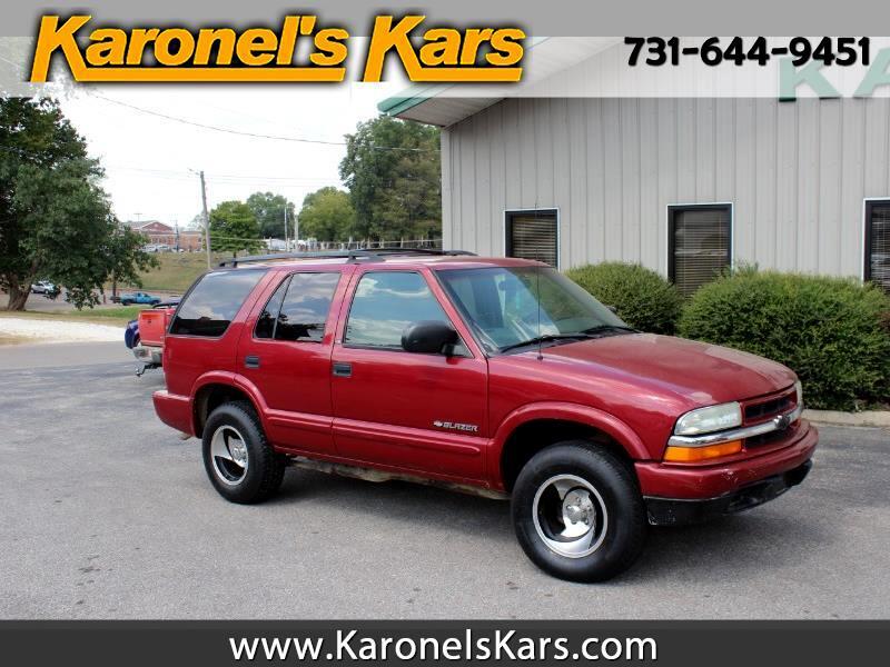 2003 Chevrolet Blazer 4-Door 2WD LS