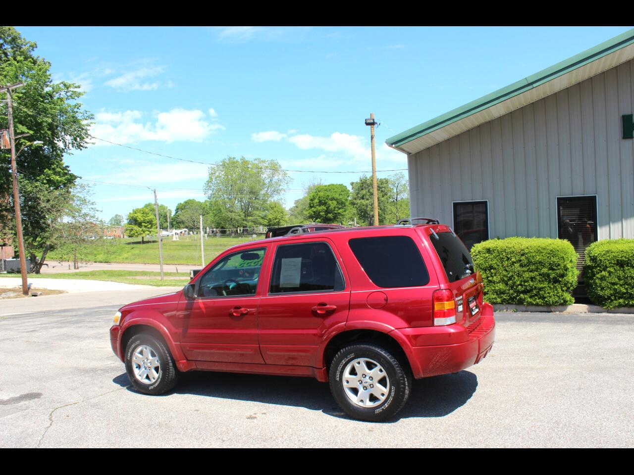 Ford Escape Limited 4WD 2006