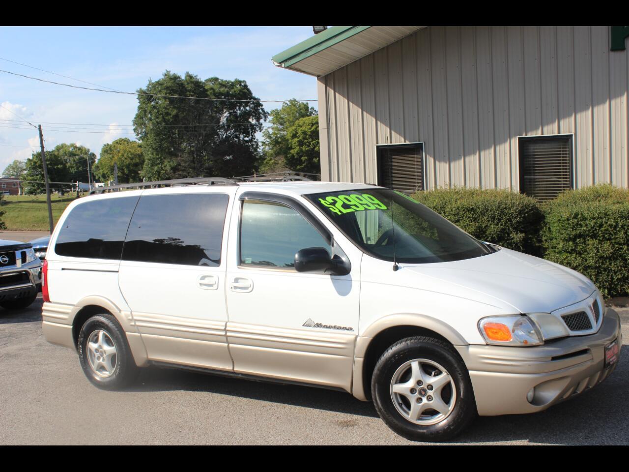 Pontiac Montana 1SA Extended 2002