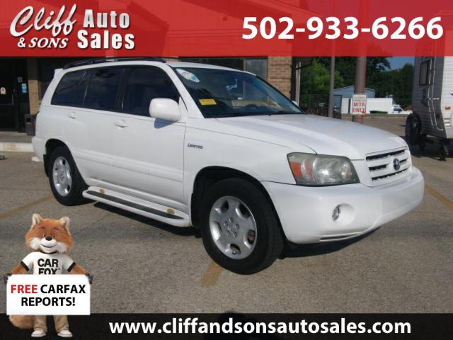 2005 Toyota Highlander LIMITED w/3RD ROW V6