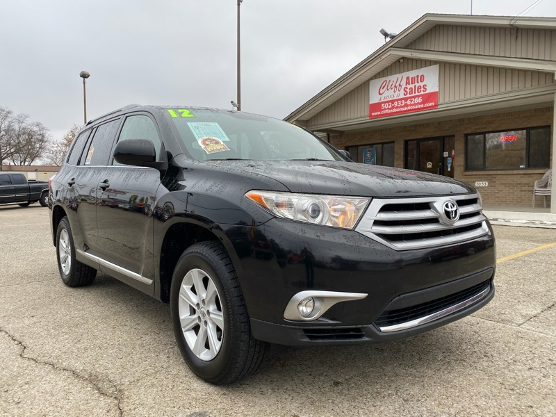 Toyota Highlander Base 4WD 2012