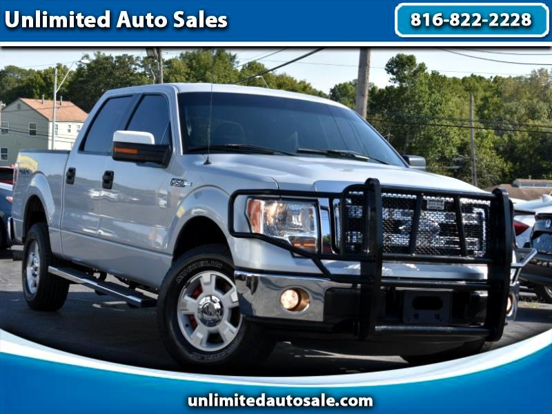 "2014 Ford F-150 SuperCrew 150"" XLT 4WD"