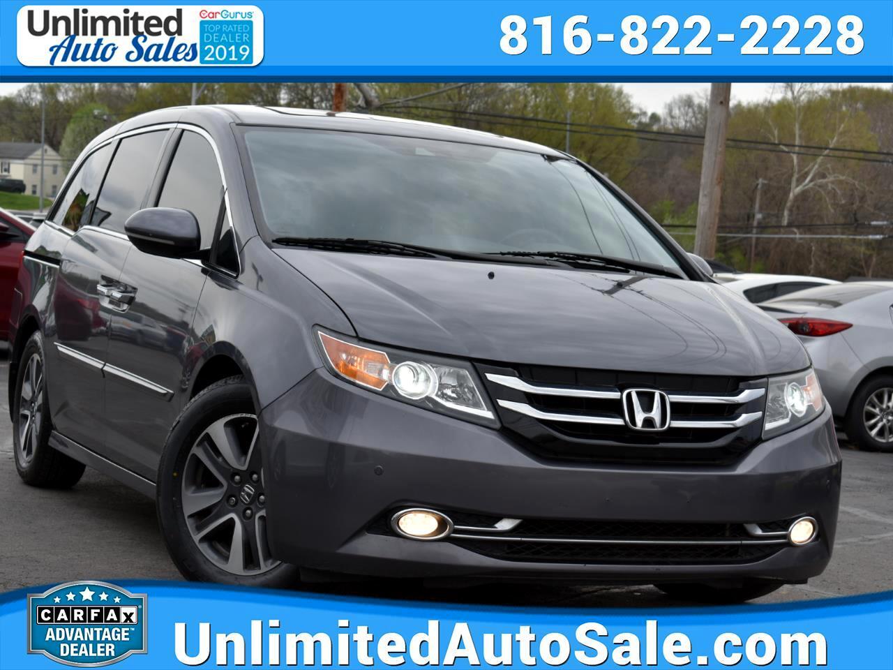 Honda Odyssey Touring Elite 2014