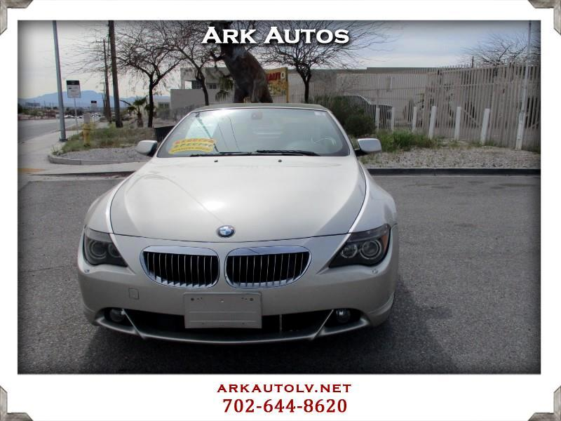 BMW 6-Series 645Ci Convertible 2004