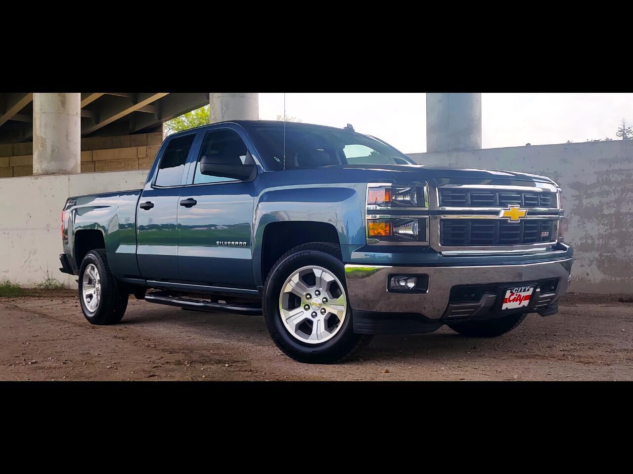 """2014 Chevrolet Silverado 1500 4WD DOUBLE CAB 143.5"""" LT"""