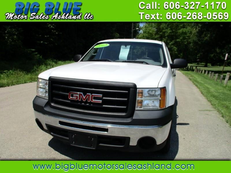 2012 GMC Sierra 1500 Work Truck 2WD