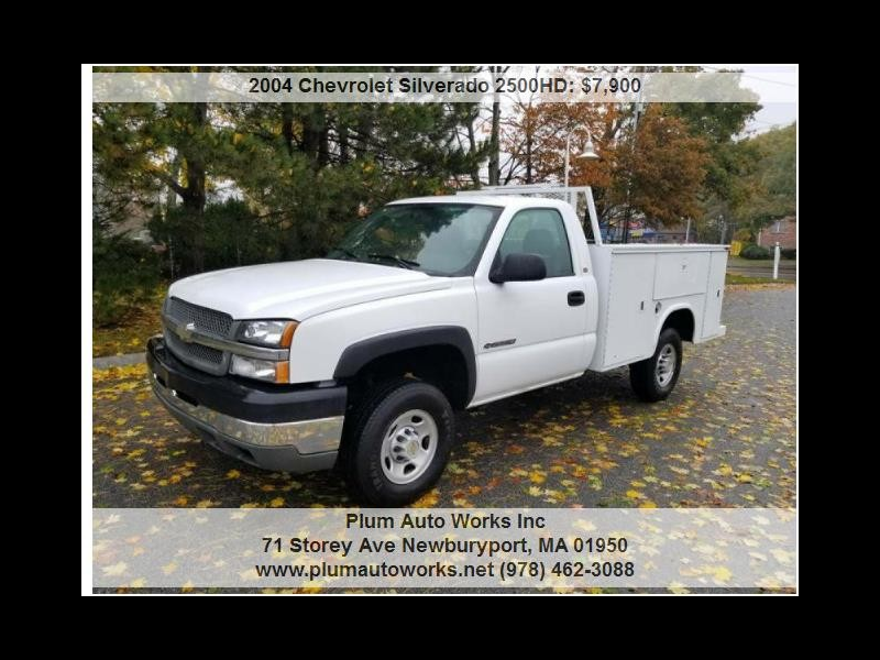 2004 Chevrolet Silverado 2500HD Work Truck Long Bed 2WD