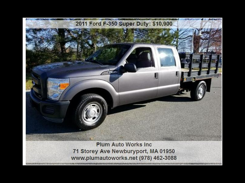 2011 Ford F-350 SD King Ranch Crew Cab 2WD