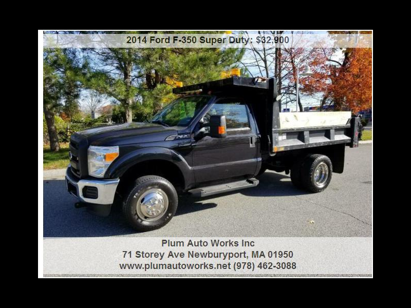 Ford F-350 SD XL DRW 4WD 2014