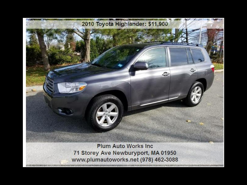 Toyota Highlander Base 4WD 2010