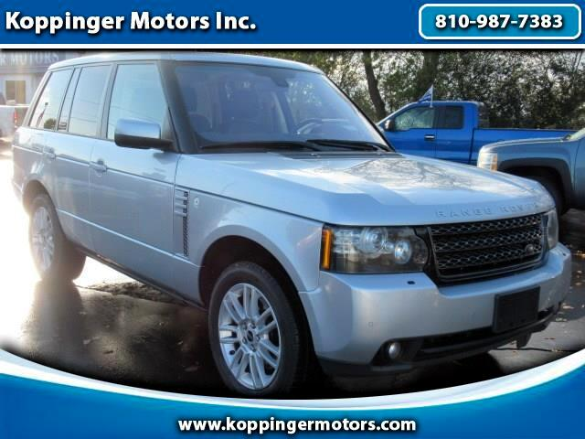 2012 Land Rover Range Rover 4WD 4dr HSE