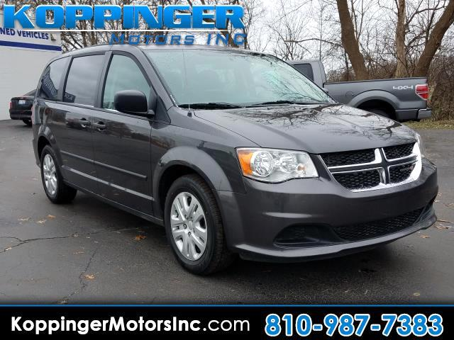 2016 Dodge Grand Caravan 4dr Wgn SE