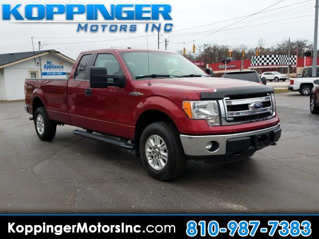 "2014 Ford F-150 4WD SuperCab 163"" XLT w/HD Payload Pkg"