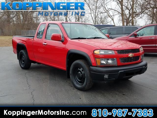 "2010 Chevrolet Colorado 2WD Ext Cab 125.9"" LT w/1LT"