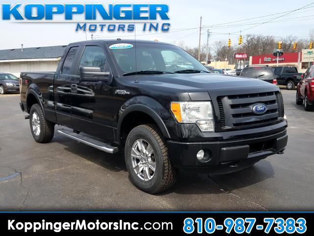 "2011 Ford F-150 4WD SuperCab 145"" STX"