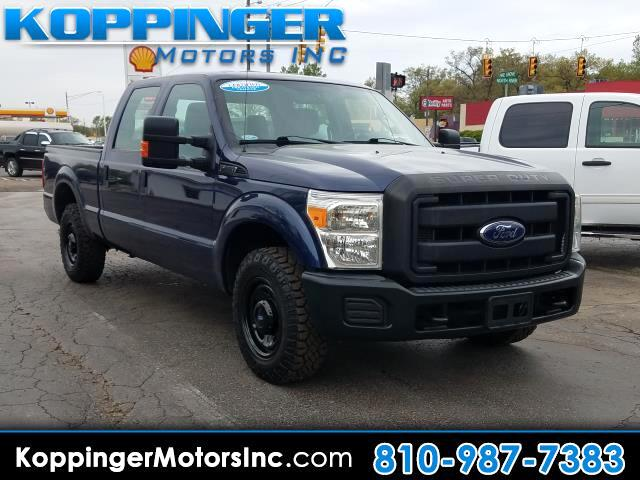 "2012 Ford F-250 SD 2WD Crew Cab 156"" XL"