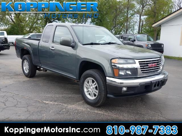 "2011 GMC Canyon 4WD Ext Cab 125.9"" SLT"