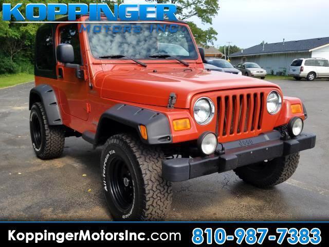 2006 Jeep Wrangler 2dr Sport