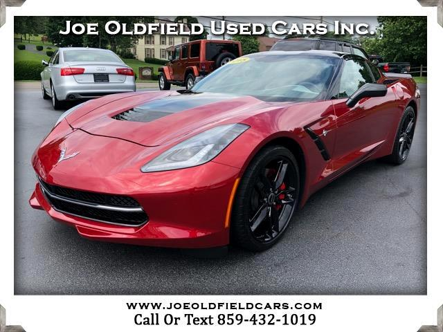 2015 Chevrolet Corvette Z51 3LT Coupe Automatic