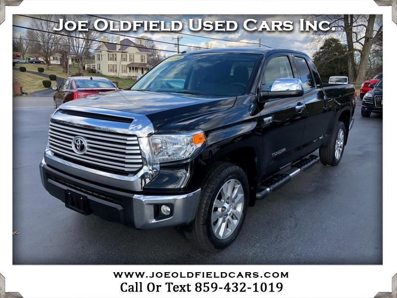 2014 Toyota Tundra 4WD Truck CrewMax 5.7L V8 6-Spd AT LTD (Natl)