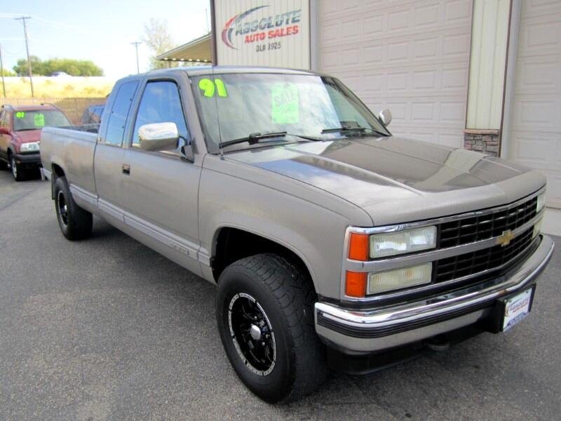1991 Chevrolet C/K 1500 Ext. Cab 8-ft. Bed 4WD
