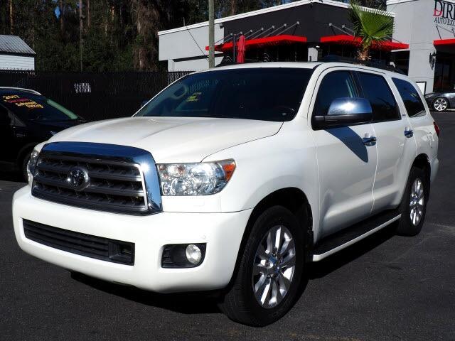 Toyota Sequoia Plantium 2WD 2012