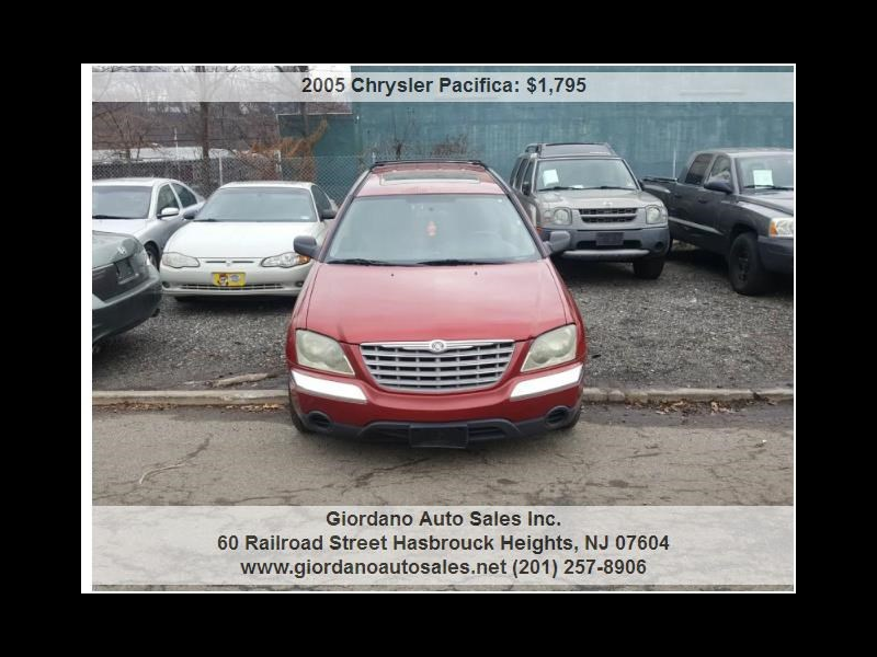 2005 Chrysler Pacifica 4dr Wgn Touring AWD