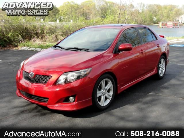 2009 Toyota Corolla XRS 5-Speed MT