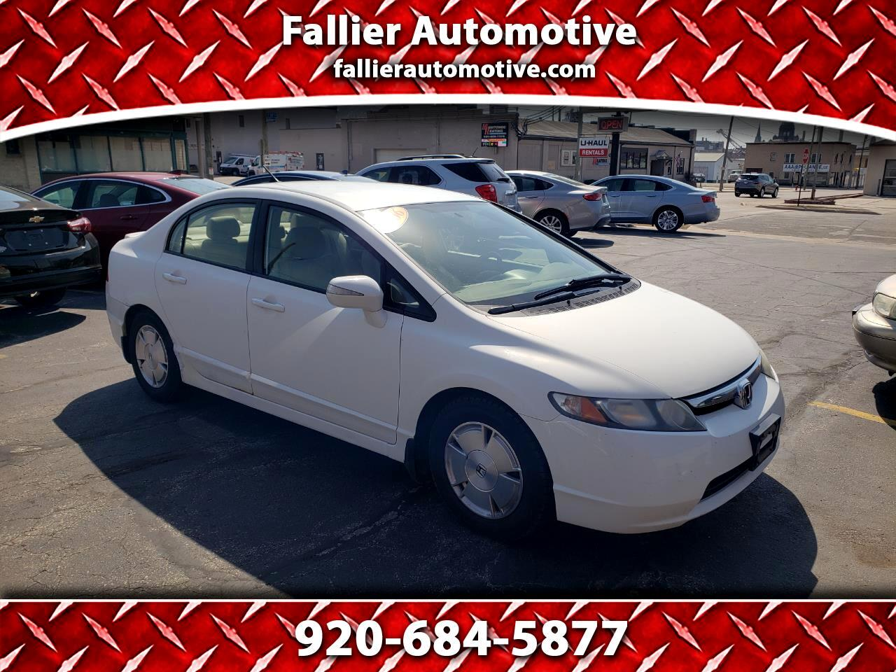 Honda Civic Hybrid CVT with Navigation 2006
