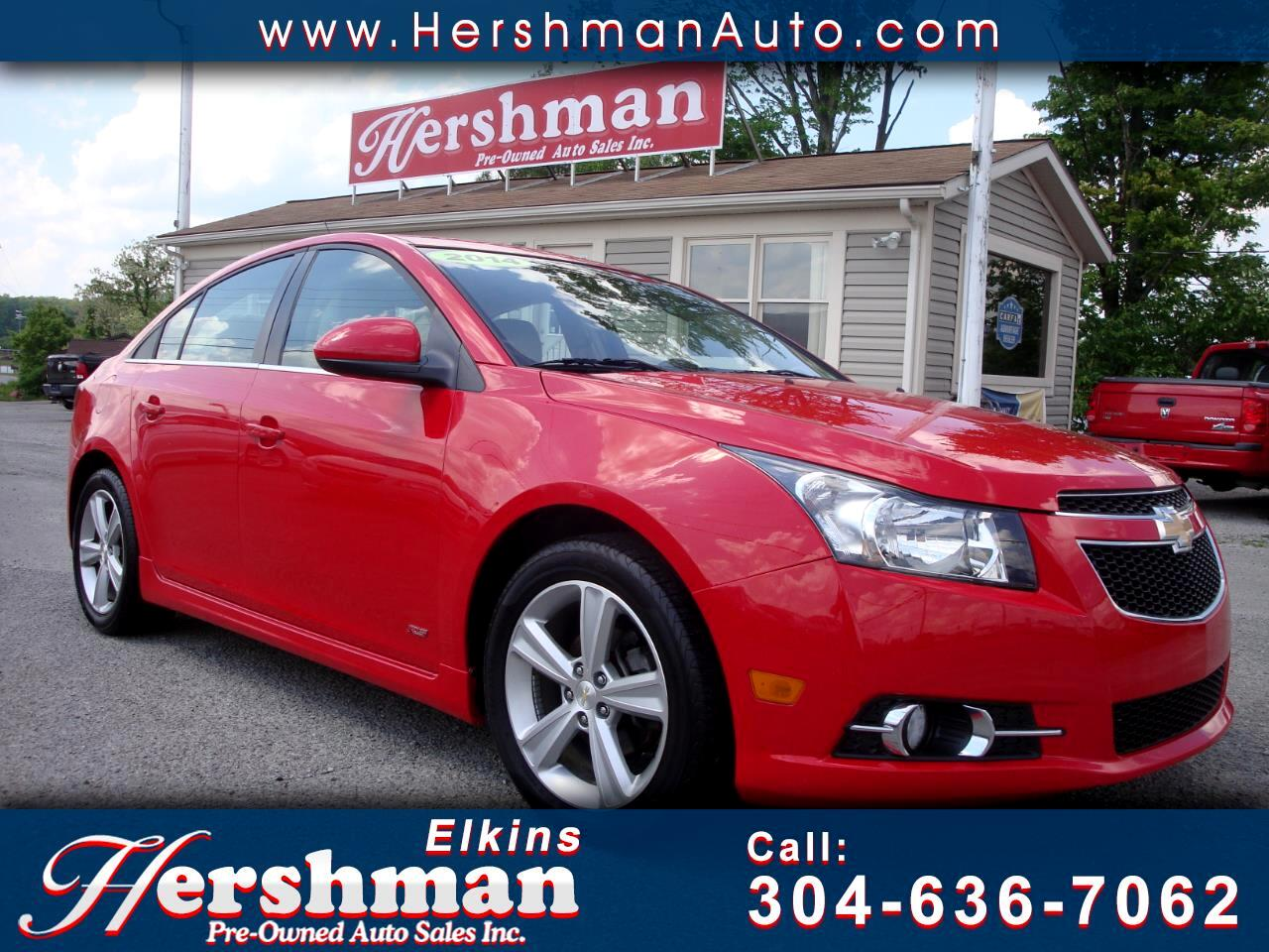 2014 Chevrolet Cruze 4dr sdn 2LT   RS