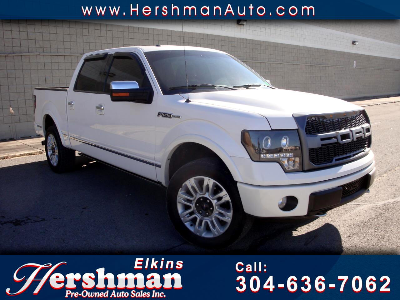 2010 Ford F-150 SUPER CREW PLATINUM