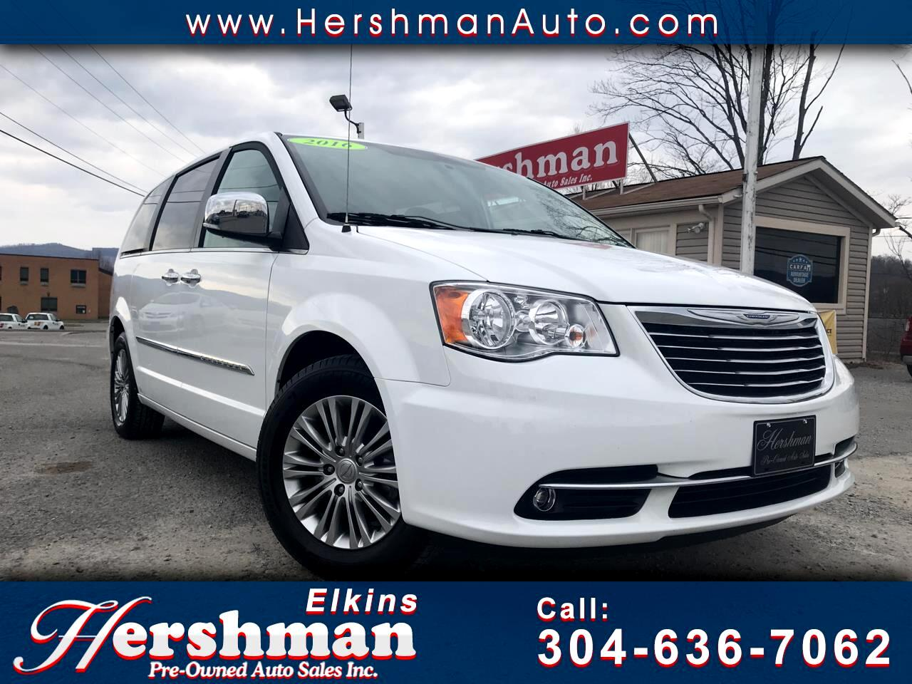 2016 Chrysler Town & Country 4dr Wgn Touring w/Leather 30th Anniversary