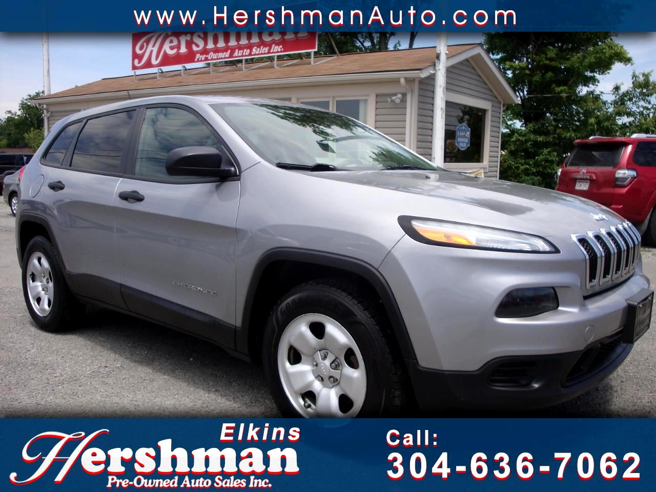 2014 Jeep Cherokee 4WD 4DR SPORT 4WD