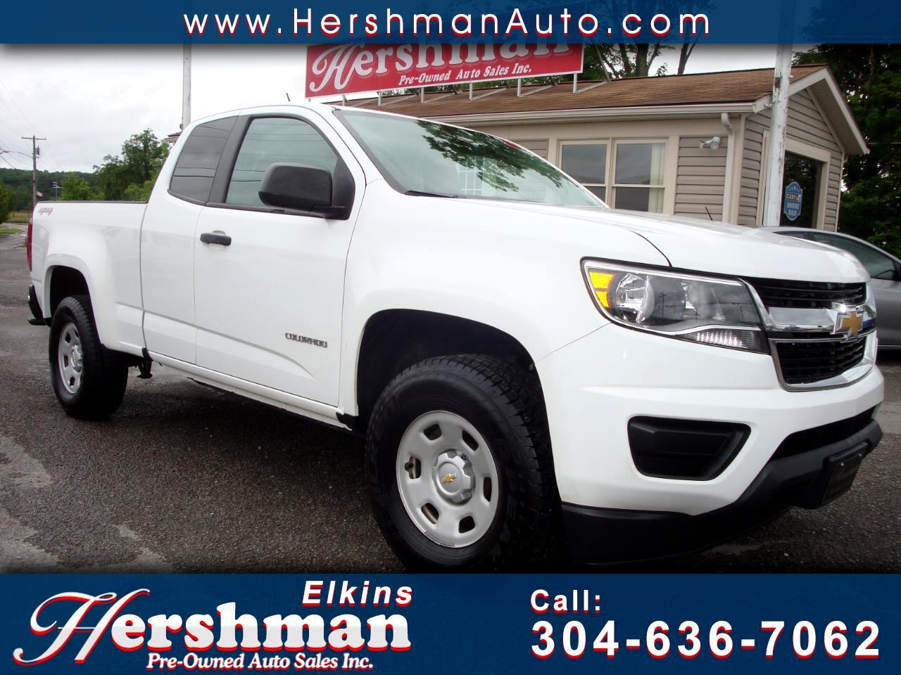 2016 Chevrolet Colorado Work Truck Ext. Cab 4WD
