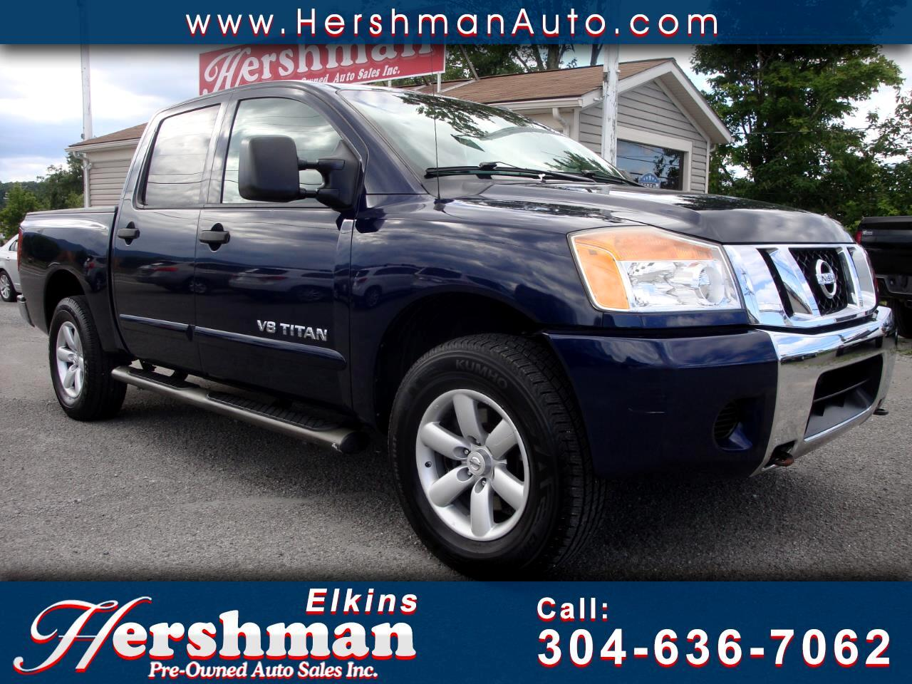 2008 Nissan Titan 4WD Crew Cab SE