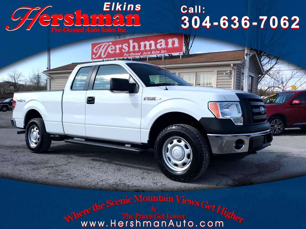 """Ford F-150 4WD SuperCab 163"""" XL w/HD Payload Pkg 2011"""