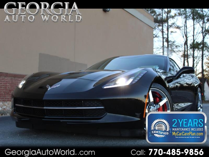 2014 Chevrolet Corvette Stingray 2LT Coupe Manual